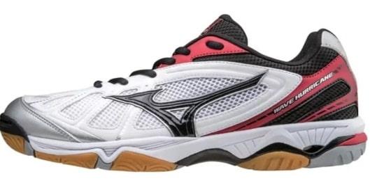 Wave Hurricane 3 White Black Volly Olahraga Sport (Tony Sneakers)